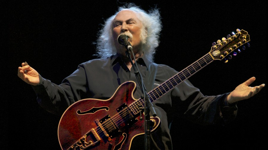 David Crosby's new solo album, his first such release in two decades, is called Croz.