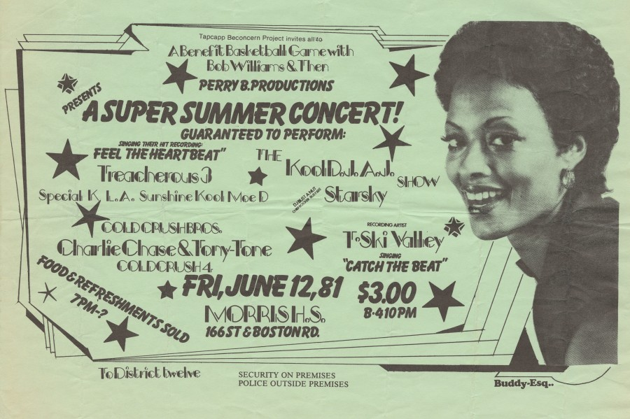 Buddy Esquire was a prolific handbill artist in hip-hop's early days in the South Bronx. He taught himself how to draw and different styles of lettering by checking out books from the local library — and his flyers are some of the only surviving documents from hip-hop's birth.