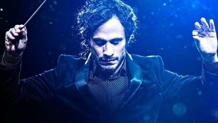 Gael Garcia Bernal stars in the pilot of Mozart in the Jungle as a hyper-charming young conductor on the rise.