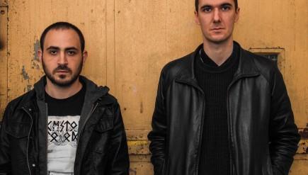 Andrew Hock (left) and Charlie Looker of Psalm Zero.