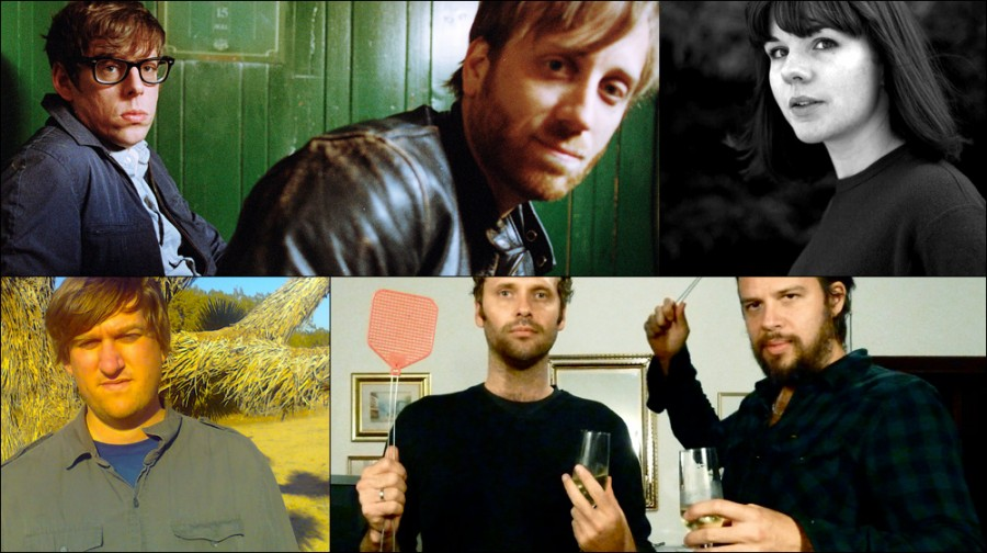 Clockwise from upper left: The Black Keys, Tiny Ruins, Winged Victory For The Sullen, Dylan Shearer
