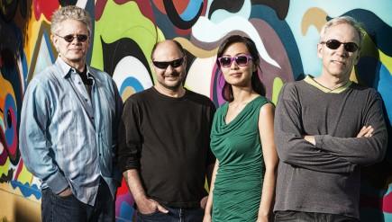 The Kronos Quartet (from left): David Harrington, John Sherba, Sunny Yang and Hank Dutt.
