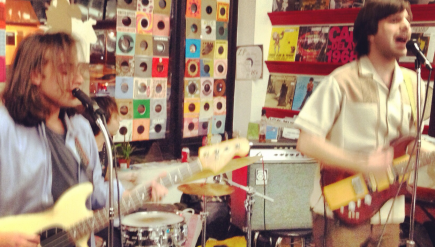 Teen Liver, shown here in 2012 at CD Cellar Arlington, is one of the bands in D.C.'s growing garage-ish scene.