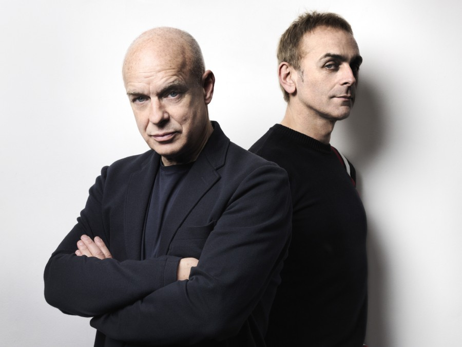 Brian Eno and Karl Hyde's new album, Someday World, comes out May 6.