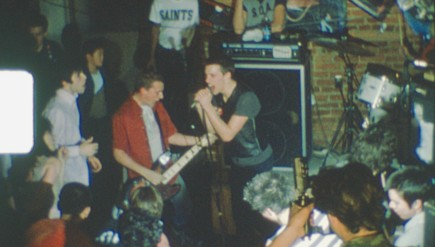"""Punk the Capital"" features footage of D.C. bands like Teen Idles, shown here in 1980."