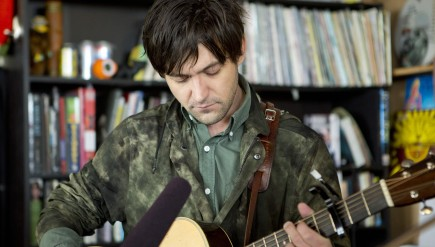 Conor Oberst performs a Tiny Desk Concert.