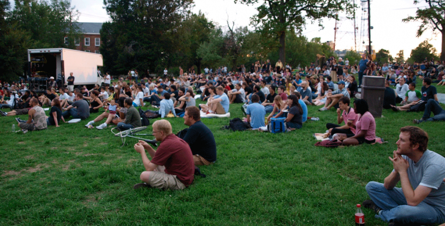 The 2014 Fort Reno schedule has been announced.