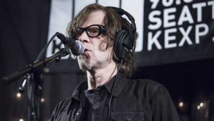 Mark Lanegan visits KEXP's studios in Seattle.