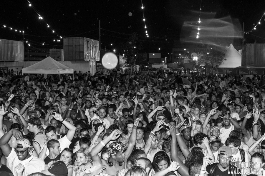 A scene from Trillectro's debut festival in 2012.