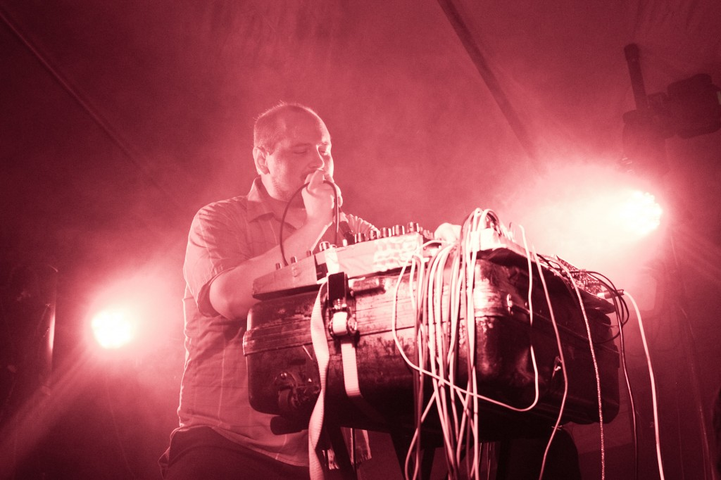 Dan Deacon at Fields Festival