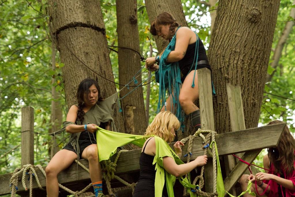 Lexie Mountain Boys at Fields Festival