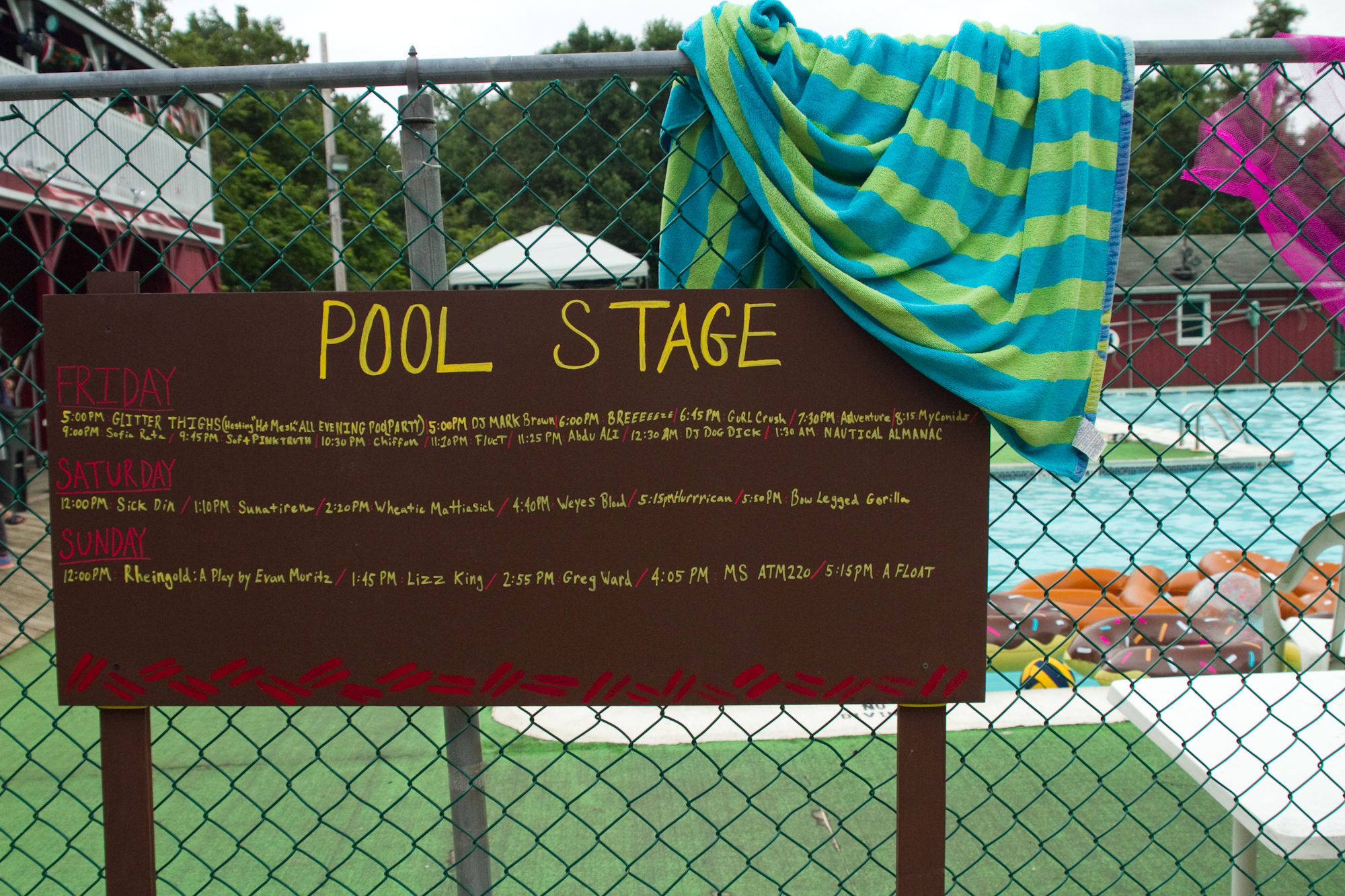 Pool stage at Fields Festival