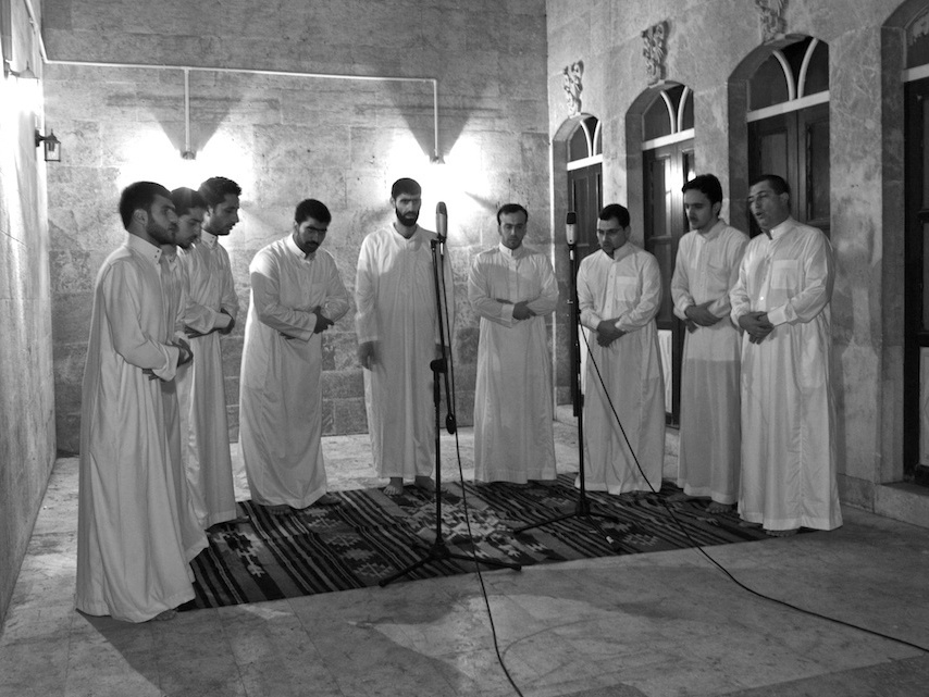 Between 2006 and 2010, Jason Hamacher made many trips to Syria to photograph and record ancient chants.