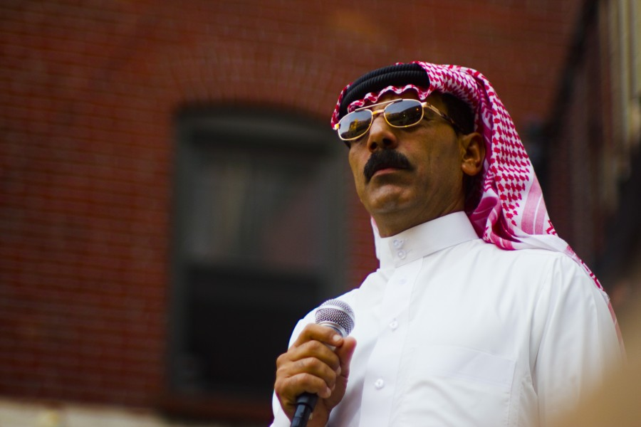 Omar Souleyman, a former wedding performer from Syria, plays Howard Theatre Tuesday.