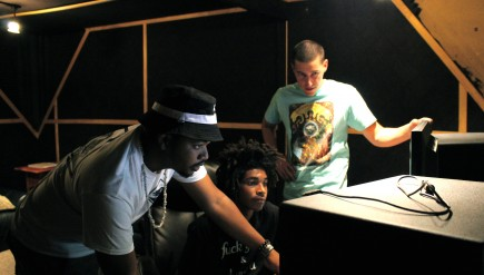 Inside the Rappers' Studio: Bombay Knox is building its own D.C. hip-hop cottage industry.