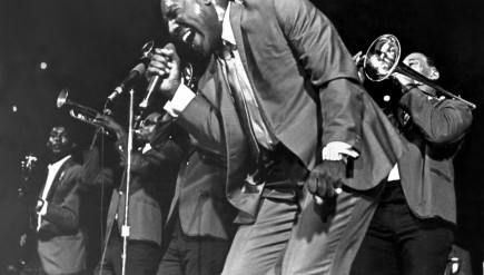"Otis Redding in 1967. Redding was also known as ""The Mad Man From Macon."""