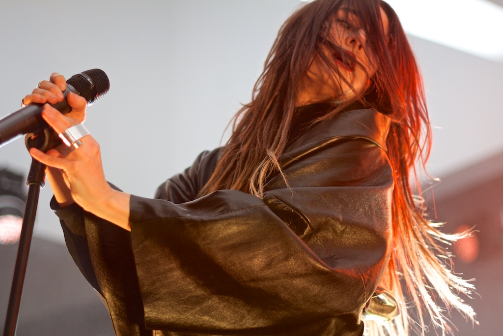 Zola Jesus at Hirshhorn