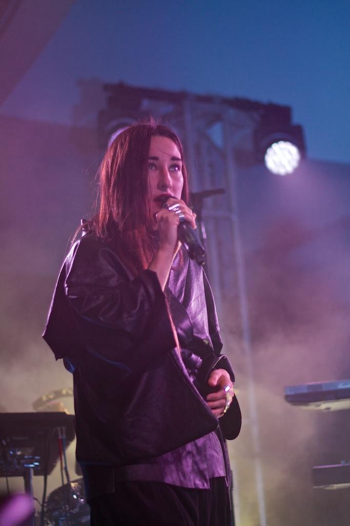Zola Jesus at Hirshhorn