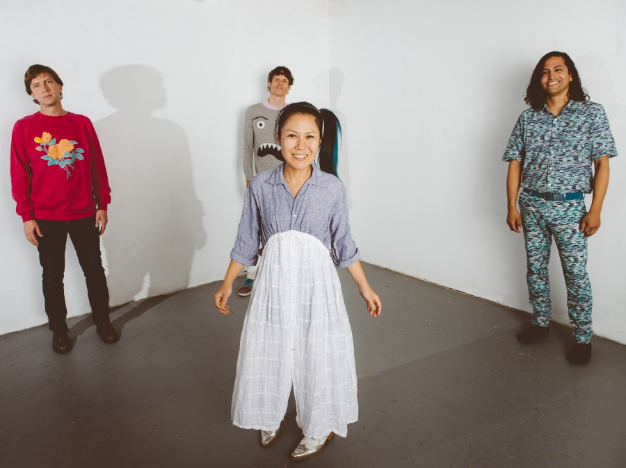 Deerhoof's new album, La Isla Bonita, comes out Nov. 4.