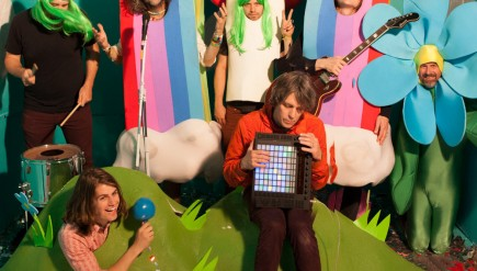 The Flaming Lips' new album, With A Little Help From My Fwends, comes out Oct. 28.