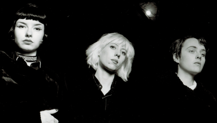 Christina Billotte (center) fronted D.C. band Slant 6 in the early- to mid-'90s.