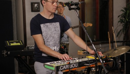 Caribou performs on KCRW's Morning Becomes Eclectic.