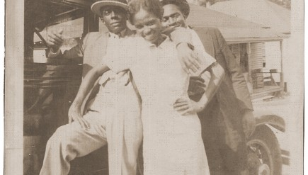 African-Americans on their way to church.