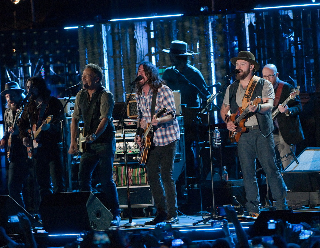 Dave Grohl, Bruce Springsteen and The Zac Brown Band at Concert For Valor
