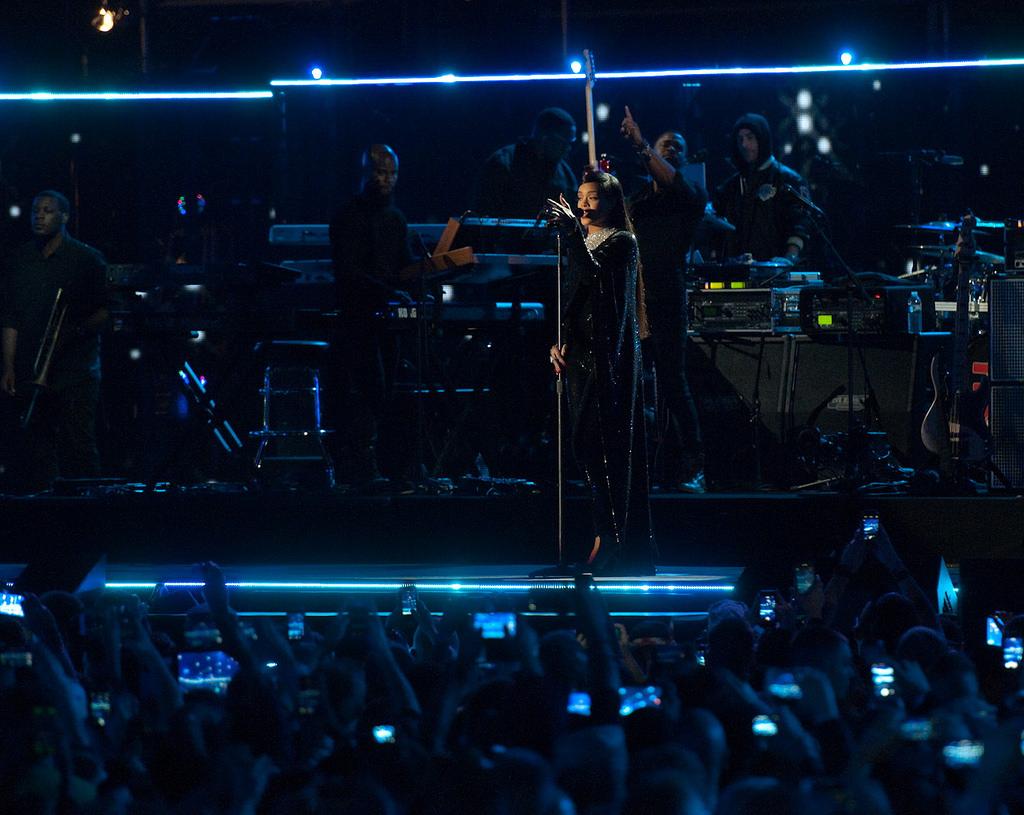 Rihanna at Concert For Valor