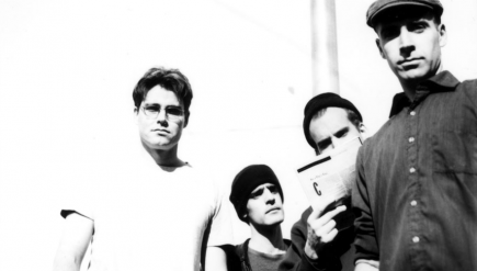 Fugazi's first demo is streaming now via Dischord Records. It's officially reissued Nov. 18.