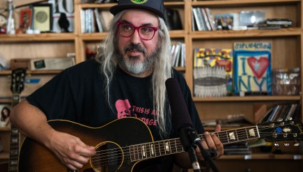 Tiny Desk Concert with J Mascis on October 16, 2014.