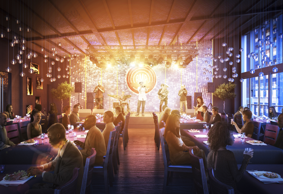 "Strathmore's new music venue (shown here in a rendering) wants to ""bring new energy beyond the Beltway."""