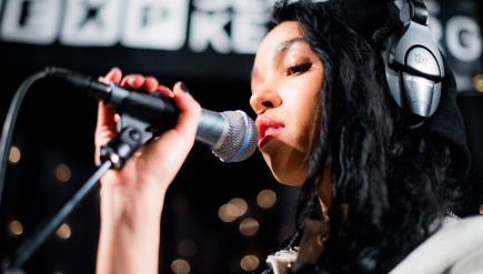 FKA twigs performs live in the KEXP studio.