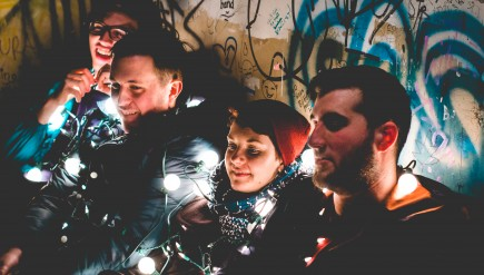 Makeshift Shelters wants to play Verizon Center one day. But to get there, its members may have to leave D.C.