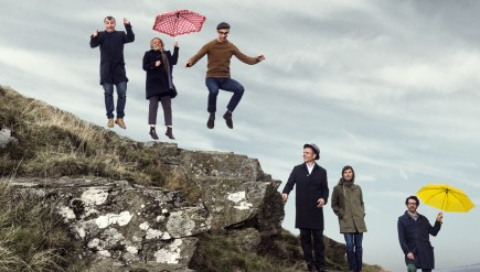 Belle And Sebastian's new album, Girls In Peacetime Want To Dance, comes out Jan. 20.
