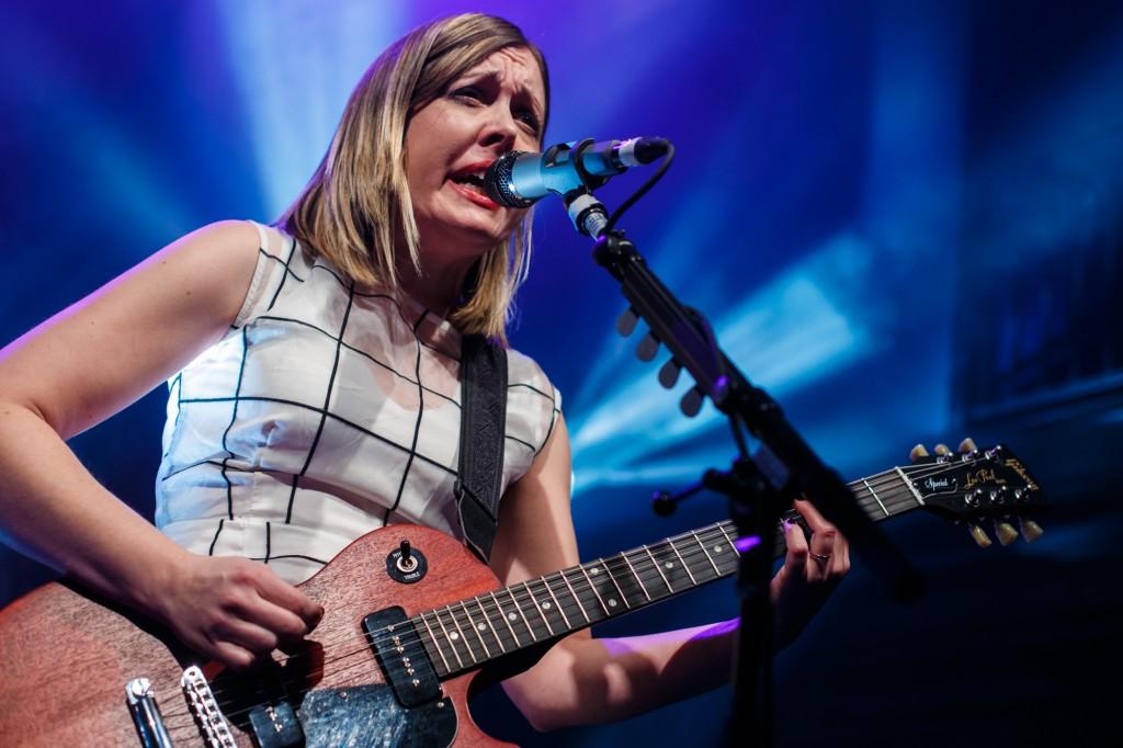 Sleater-Kinney at 9:30 Club, February 2015