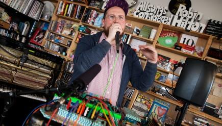 Tiny Desk Concert with Dan Deacon on Feb. 12, 2105.