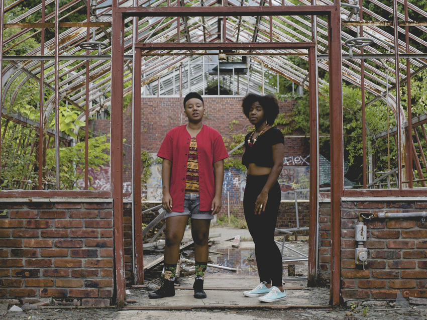 THEESatisfaction's album, EarthEE, comes out Feb. 24.