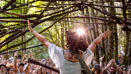 Valerie June performs live at Pickathon 2014.