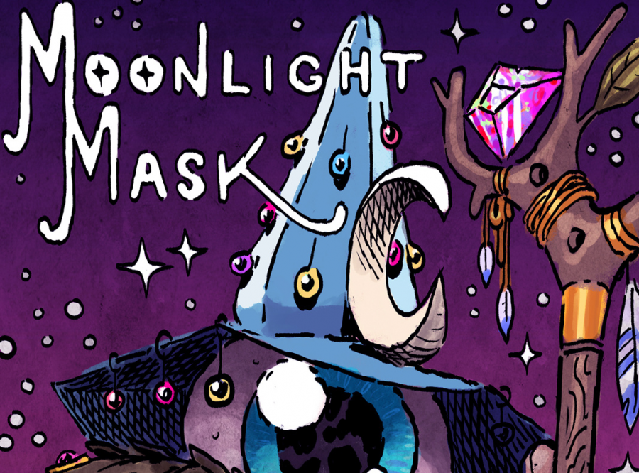 Moonlight Mask, aka D.C. pop musician Anders Carlson, formally releases his debut album May 1.