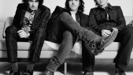 "After about 25 years together, members of Jon Spencer Blues Explosion are ""sort of tender with each other,"" Spencer says."