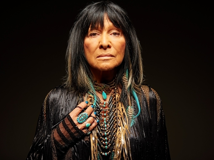 Buffy Sainte-Marie's new album, Power In The Blood, comes out May 12.