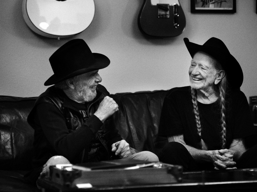 Willie Nelson and Merle Haggard's new album, Django And Jimmie, comes out June 2.