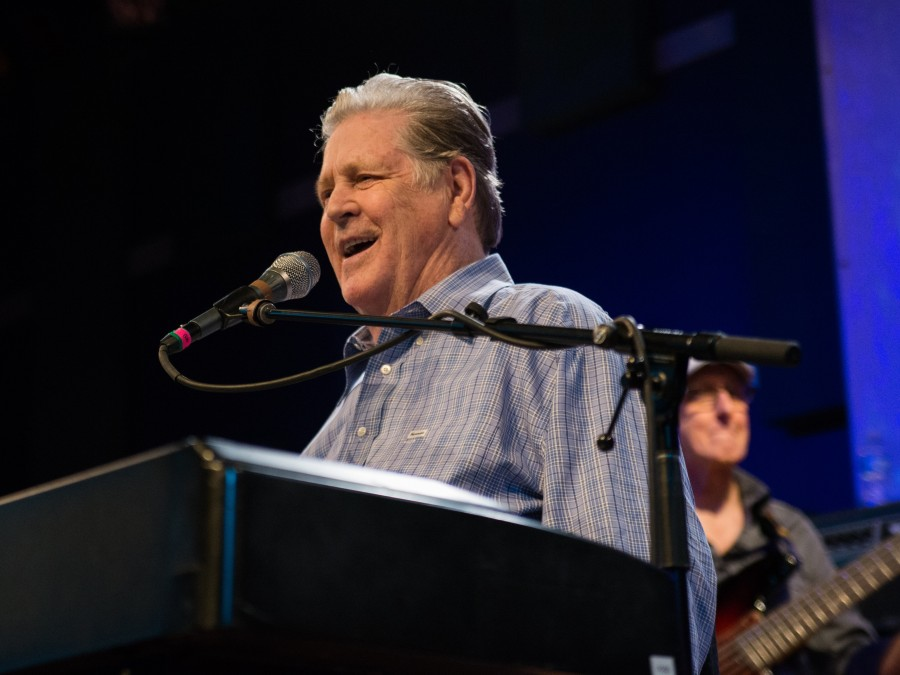 Brian Wilson performs at World Cafe Live.
