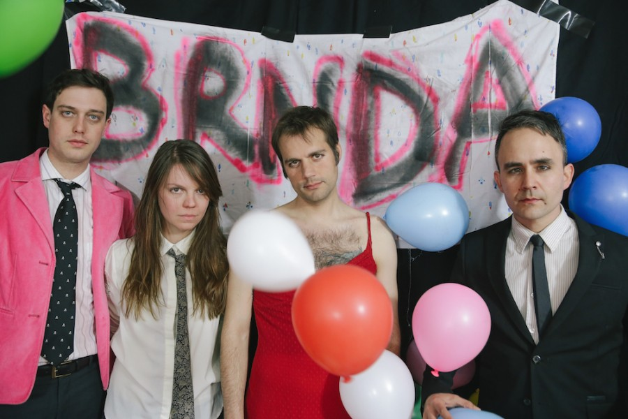 """Go Bi,"" a new song from D.C. post-punks BRNDA, finds singer Dave Lesser reconsidering his romantic options."