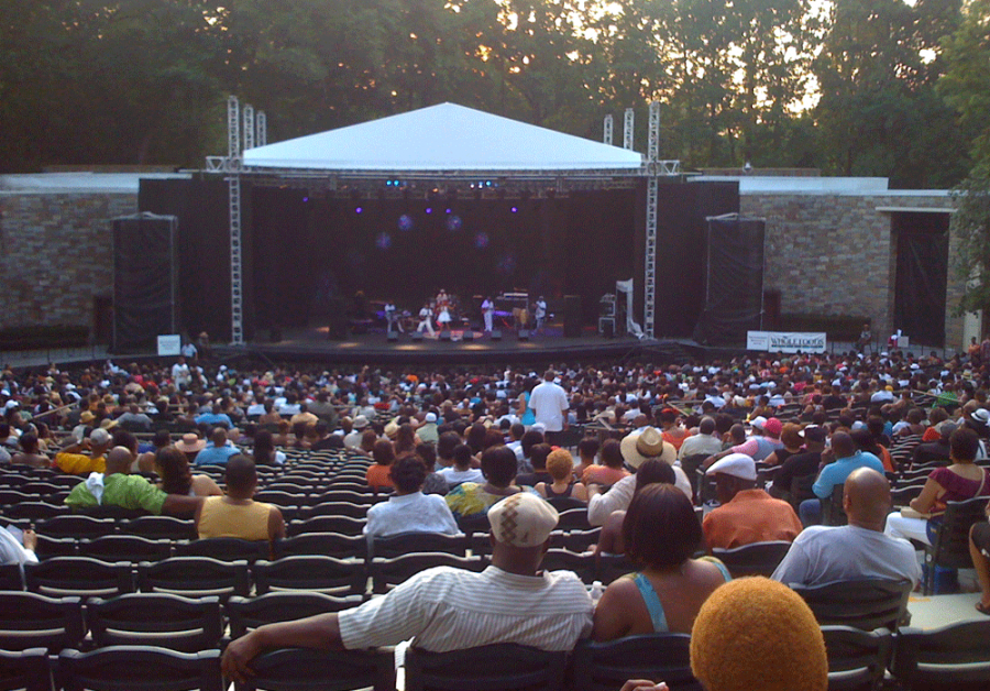 Concerts at Carter Barron Amphitheatre begin this week, along with Fort Dupont's summer shows.