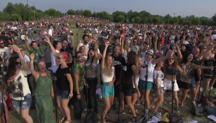 Cesena, Italy, Foo Fighters video