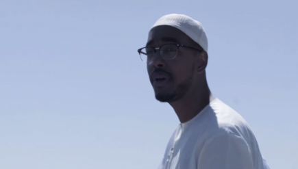 """I'm just trying to break out the mold,"" Oddisee raps on ""Belong to the World."""