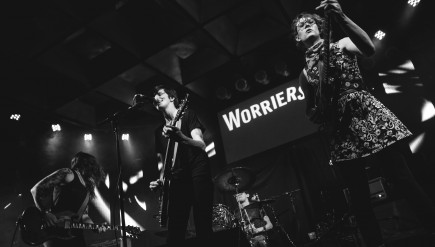 Worriers' new album, Imaginary Life, comes out August 7.