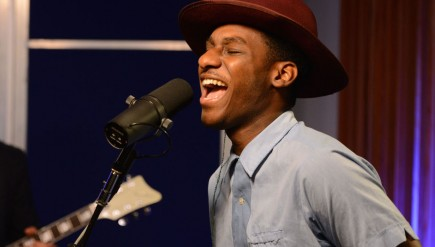 Leon Bridges performs live for KCRW's Morning Becomes Eclectic.